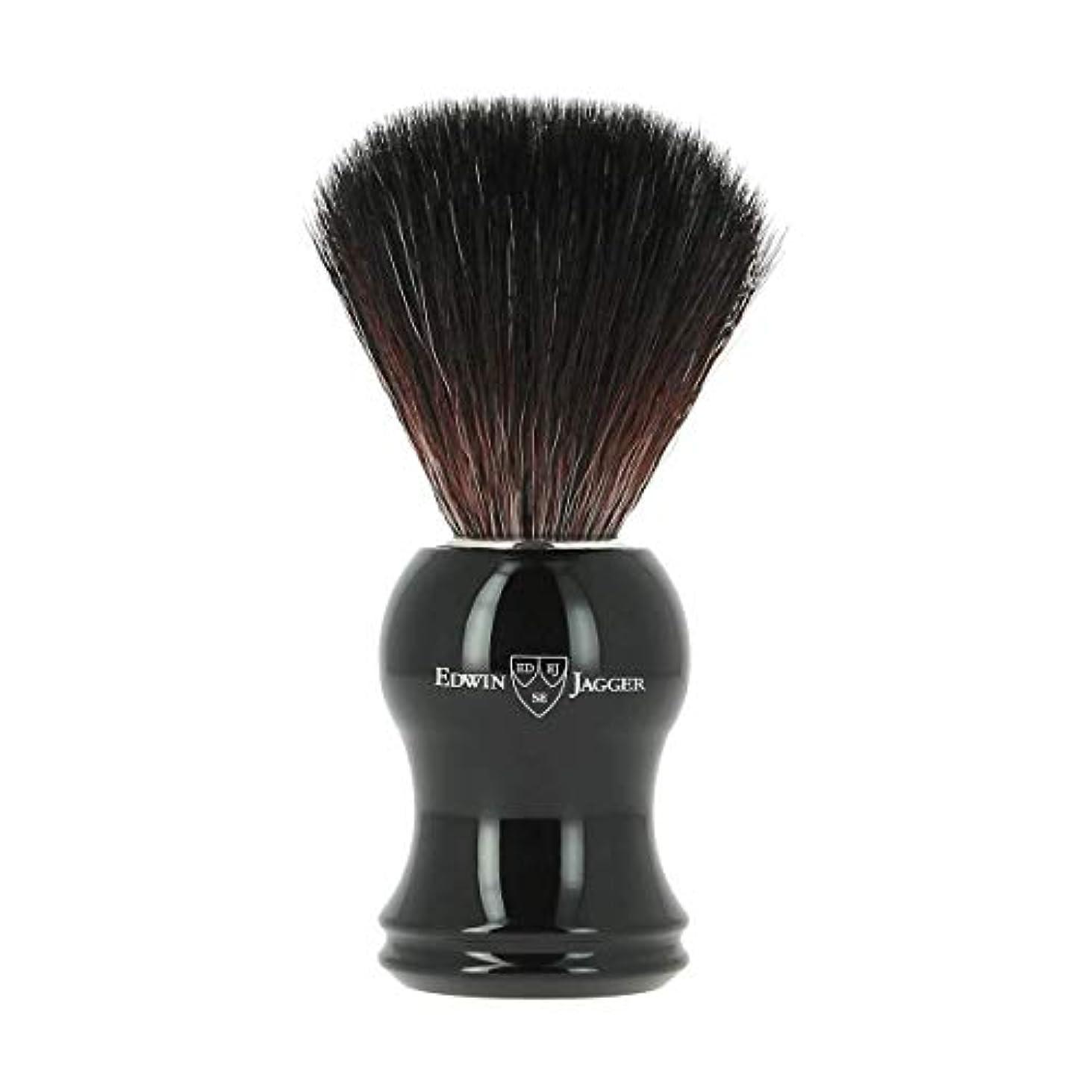 陪審安全でないニュースエドウィンジャガー エボニー 合成 シェービングブラシ21P36[海外直送品]Edwin Jagger Ebony Synthetic Shaving Brush 21P36 [並行輸入品]