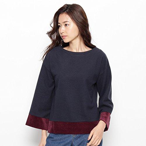 [해외](슈라루) SHOO · LA · RUE 벨벳 배색 풀오버 74119335/(SHUALOU) SHOO · LA · RUE VELOY color scheme pullover 74119335