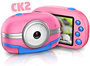 Children's Camera, Children's Digital Camera, Toy Camera, Touch Panel, 2.8 Inches, 4 Times Zoom, Choos
