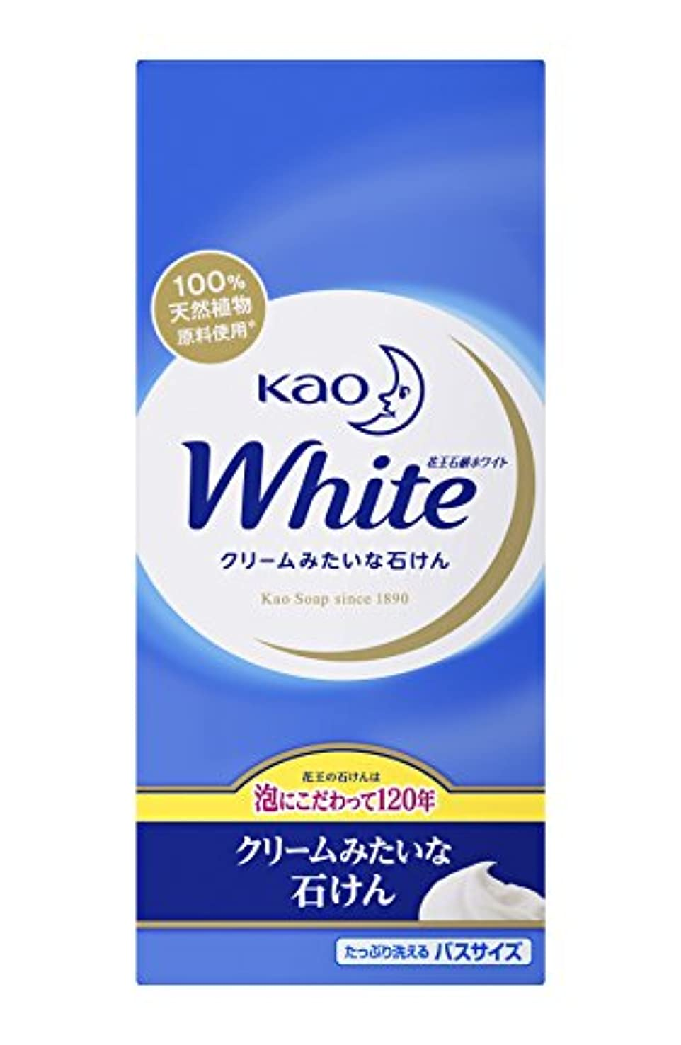 陰謀慣習矢花王ホワイト バスサイズ 6コ箱