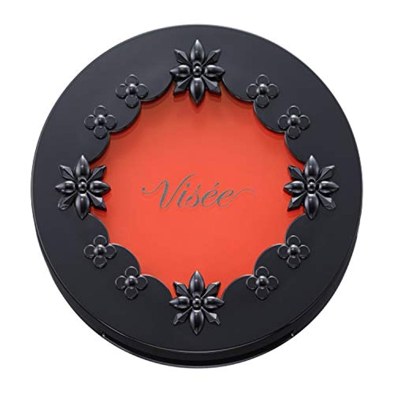 素敵なわずらわしい寛大なヴィセ リシェ リップ&チーク クリーム ブライトオレンジ OR-3 5.5g