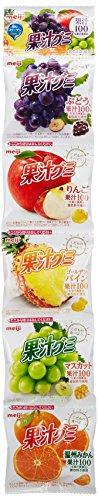 明治 果汁グミ食べきり5連アソート 18g×5連×12個
