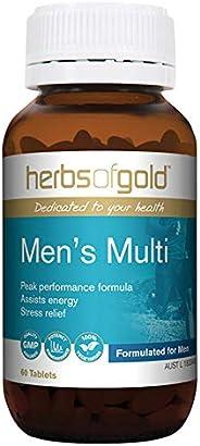 Herbs of Gold Men's Multi, 60 c