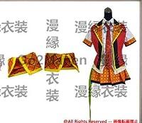コスプレ衣装◆B206◎アイドルデスゲーム 烏丸理都(からすまるりと) 女の子 ワンピース ドレス