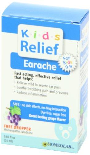 海外直送肘 Kids 0-9 Earache, Earache 25 ml Homeolab