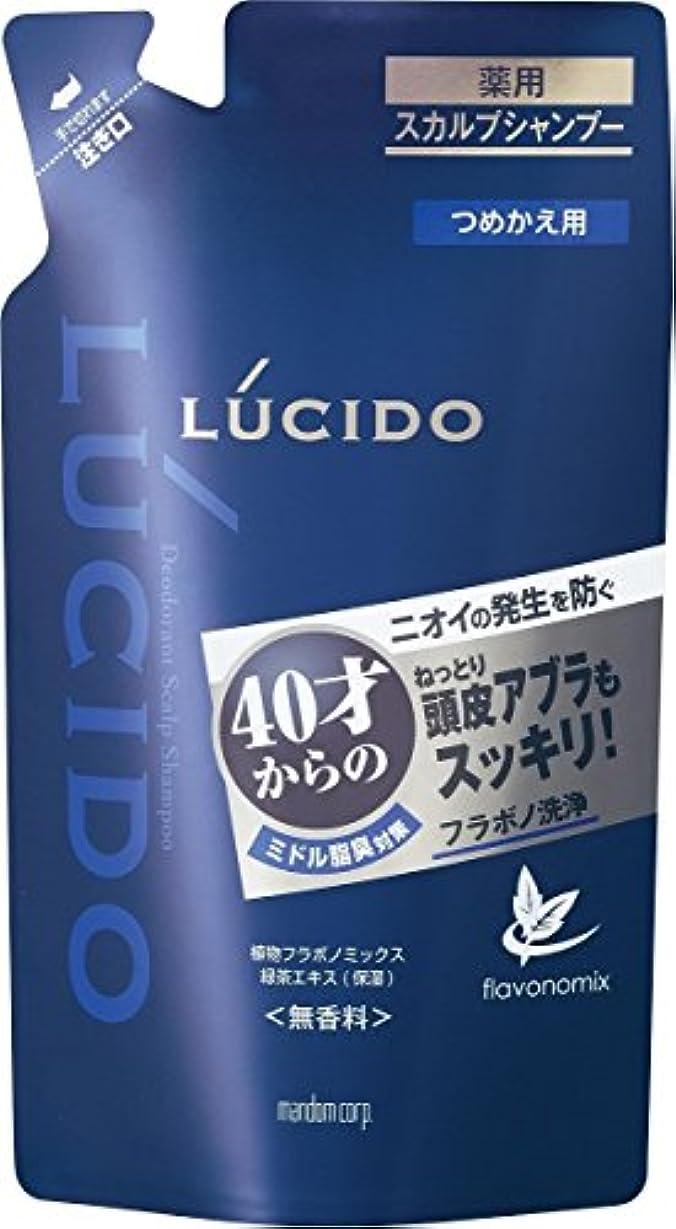 メッシュはっきりと始まりルシード 薬用スカルプデオシャンプー つめかえ用 380mL (医薬部外品)