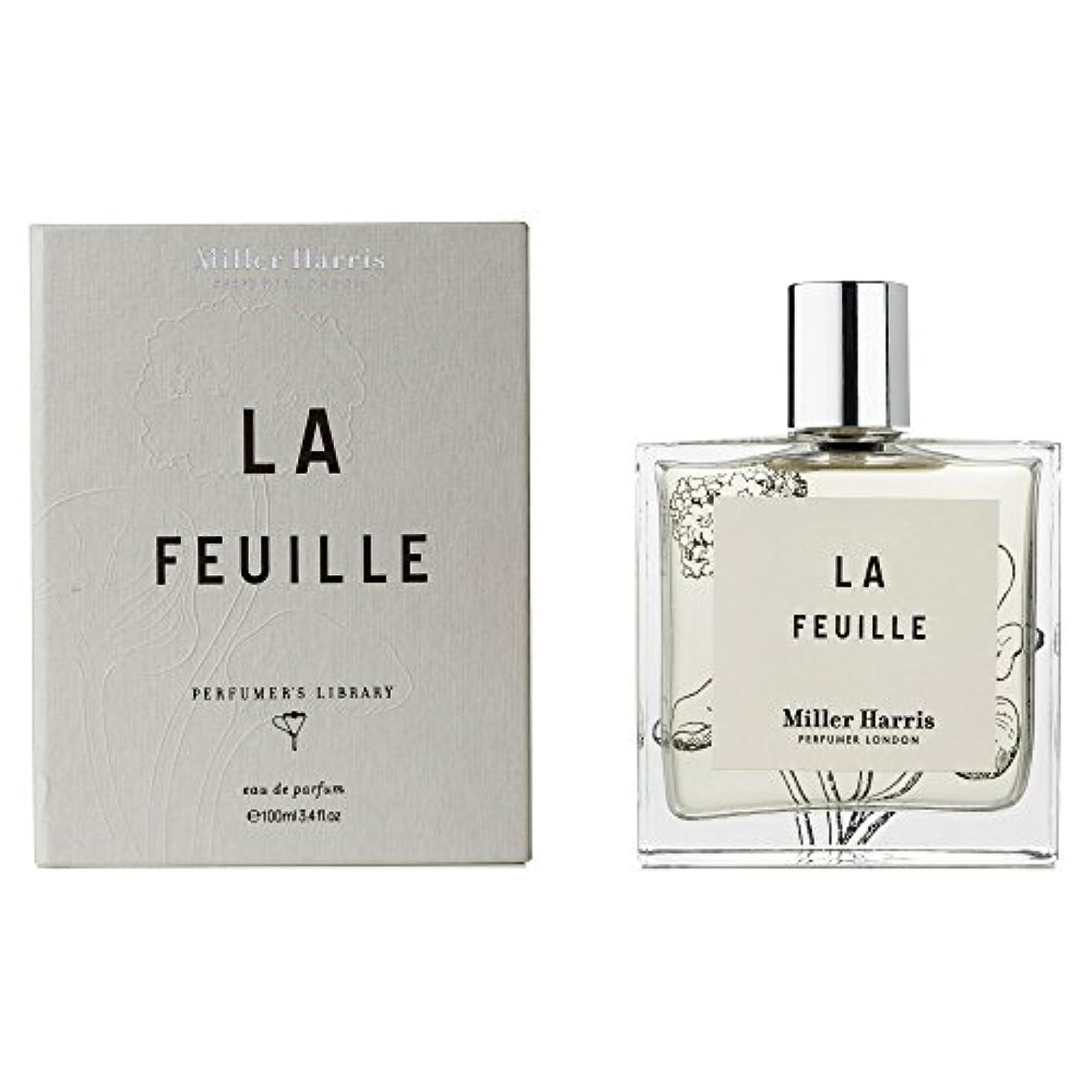 恒久的操縦する破滅ミラーハリス La Feuille Eau De Parfum Spray 100ml/3.4oz並行輸入品