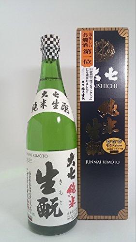 大七 純米生もと 720ml 1本 【大七酒造(福島)】