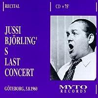 Bjoerling's Last Concert