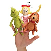 Manhattan Toy Dr. Seuss The Grinch Finger Puppet Set by Dr. Seuss