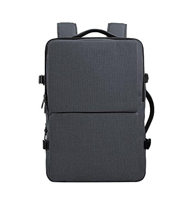 ノイズ汚いチャペルCai(カイ) ビジネスバッグ リュック pcバッグ 2WAY 17.3インチ マチ拡張 大容量 旅行 通勤 通学 撥水加工 防水 多機能 メンズ レディース (HK-09099)