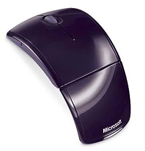 マイクロソフト レーザー マウス Arc Mouse パープル ZJA-00051
