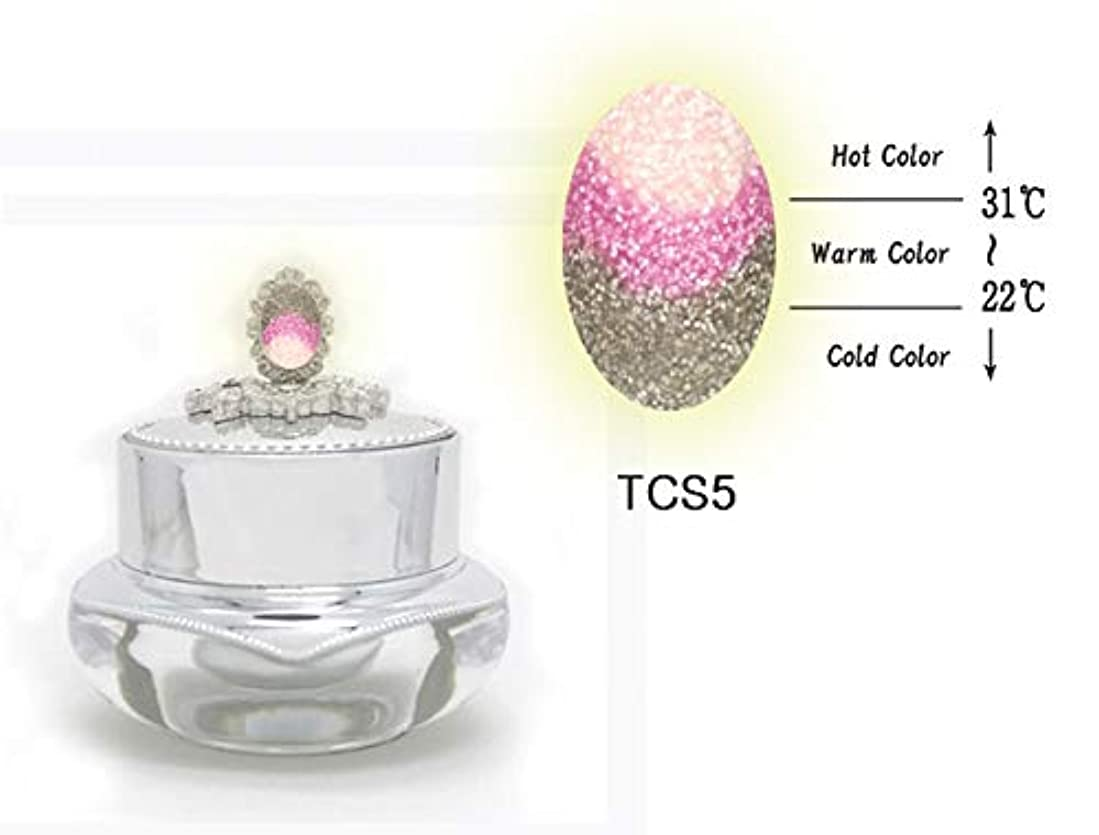 七面鳥激しいさまようKENZICO (ケンジコ) Triple Sugar Gel プロ用5g 【TCS5】 3つの色に変わる夜光ジェル トリプルシュガージェル