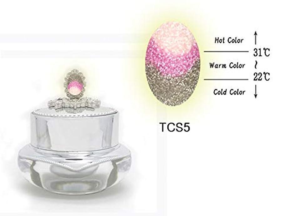 秀でるスキップ退却KENZICO (ケンジコ) Triple Sugar Gel プロ用5g 【TCS5】 3つの色に変わる夜光ジェル トリプルシュガージェル