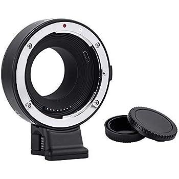 【国内正規品】 Commlite レンズマウントアダプター CM-EF-FX (キヤノンEFマウントレンズ → 富士フイルムXマウント変換) 電子接点付き