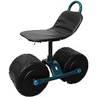 ミナトワークス 農作業用 移動椅子 (回転式/高さ210~310mm) MGC-150A [その他]