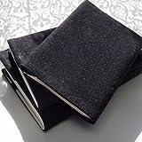 オルキデア ブックカバー 岡山デニム ブラック ビジネス書サイズ 国産 BK-I-2-B