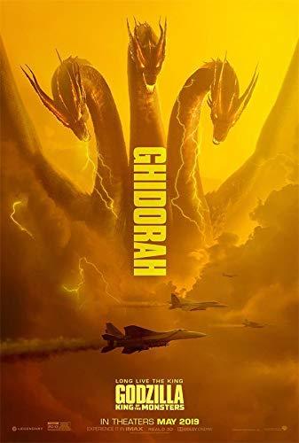 ゴジラ キング・オブ・モンスターズ 90cm x 60cm ポスター キングギドラ ver. 海外告知版 Godzilla