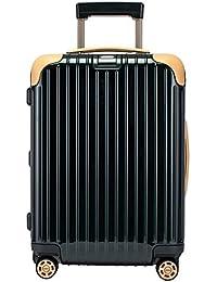 RIMOWA [リモワ] SALSA DELHYBRID サルサ 870.52.41.4 デラックス ハイブリッド CABIN MW キャビン スーツケース キャリーバッグ ジェットグリーン/ベージュ [並行輸入品]