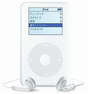 Apple iPod 40GB (Click Wheel) Mac&PC [M9268J/A]