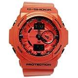 G-Shock (Gショック) GA150A-4A Classic Series Stylish Watch - Metallic オレンジ メンズ 男性用 腕時計 ウォッチ(並行輸入)