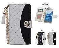 「kaupili」GALAXY Feel2 SC-02L docomoケース 鏡/ミラー付き カード収納 スタンド機能 手帳型 お財布機能付き 化粧鏡付き