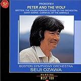 プロコフィエフ : ピーターと狼、サン=サーンス : 動物の謝肉祭 & ブリテン : 青少年のための管弦楽入門