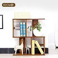 バンブー S タイプ 本棚, 床立つ 収納ラック キャビネット 組み合わせ ロッカー層 本棚-A