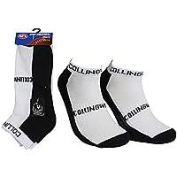 Collingwood Mens Ankle Socks- 2Pk