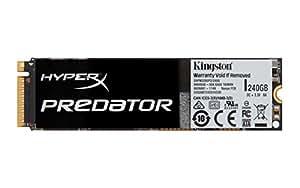 キングストン Kingston SSD M.2 2280 240GB PCIe HyperX Predator 3年保証