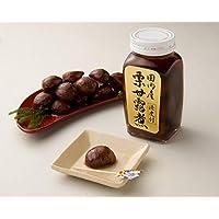 【おせち】渋皮付き国産栗甘露煮・ビン 320g(固形量160g) 常温 ムソー