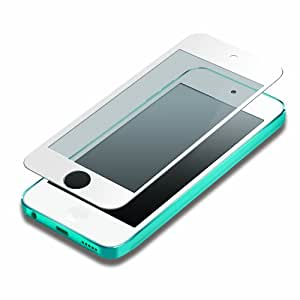 iJacket iPod touch 第5世代 液晶保護フィルム 気泡ZERO指紋防止タイプ ホワイト PG-IPTO5ZRAGWH