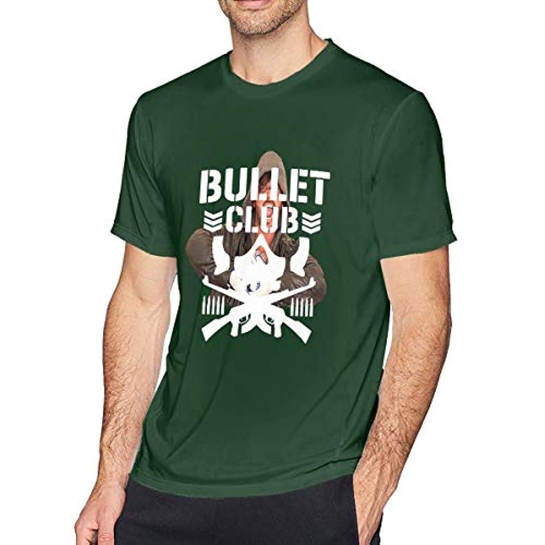 ラショナル迫害資産一葉草のtシャツ 半袖 メンズ 純綿 Bullet Club No One プリント 印象的なTシャツ 着回 夏向き 爽やか ロゴTシャツ TEE トップス カットソー オシャレ オトク
