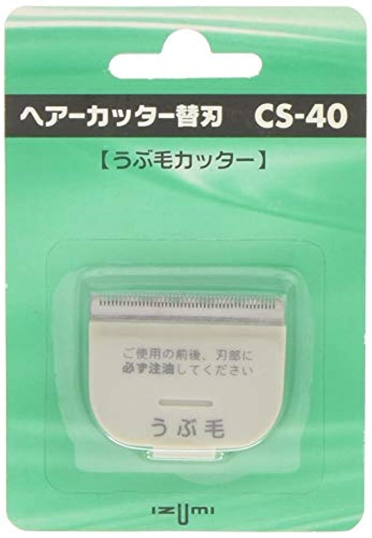 画像ヘロイン排気IZUMI ヘアーカッター用替刃 うぶ毛カッター CS-40