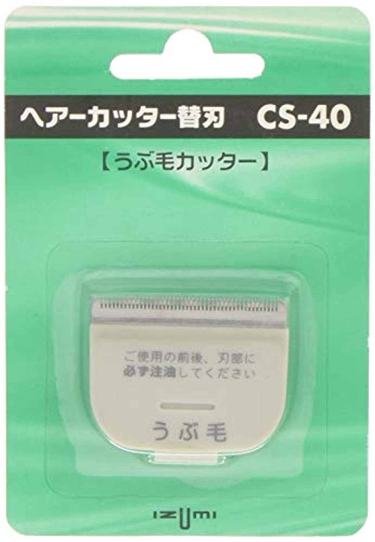 子供っぽいコンソールセグメントIZUMI ヘアーカッター用替刃 うぶ毛カッター CS-40