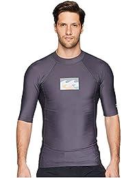 (ビラボン) Billabong メンズ 水着?ビーチウェア ラッシュガード All Day Wave Performance Fit Short Sleeve [並行輸入品]