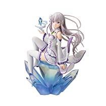 コトブキヤ Re: ゼロから始める異世界生活 エミリア 1/8スケール PVC製 塗装済み完成品フィギュア