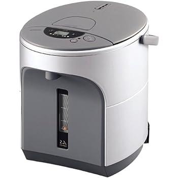 ZOJIRUSHI ZUTTO シリーズ マイコン沸とう電動ポット シルバー CD-FA22-SA