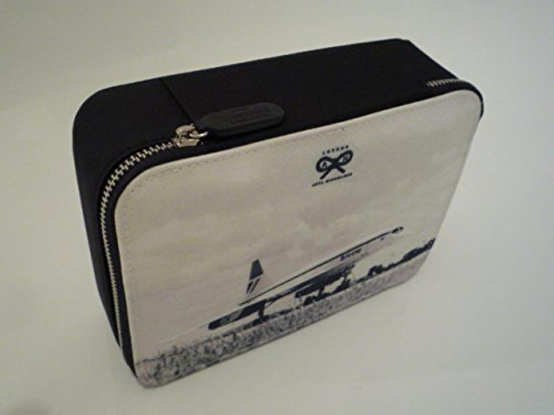 アニヤハインドマーチ×英国航空 アメニティポーチコンコルドBritish Airways(ブリティッシュエアウェイズ)化粧ポーチに最適?100608