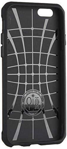 【Spigen】 iPhone6s ケース / iPhone6 ケース カプセル ウルトラ ラギッド [ 米軍MIL規格取得 落下 衝撃 吸収 ] アイフォン6s / 6 4.7 インチ 用 耐衝撃カバー (ブラック 【SGP11597】)