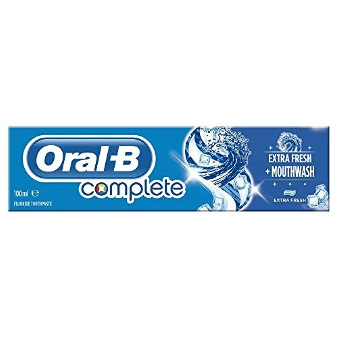 子熟した控えめなOral B Complete Extra Fresh Toothpaste (100ml) 経口b完全な余分な新鮮な歯磨き粉( 100ミリリットル) [並行輸入品]
