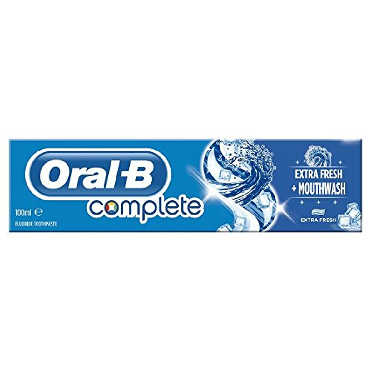 敷居アレイ真夜中Oral B Complete Extra Fresh Toothpaste (100ml) 経口b完全な余分な新鮮な歯磨き粉( 100ミリリットル) [並行輸入品]