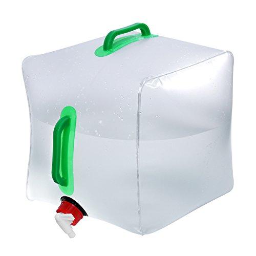 WINOMO 水タンク ウォータータンク 水缶 アウトドア 20L キャンプ 貯水ツール 折りたたみ 蛇口付き