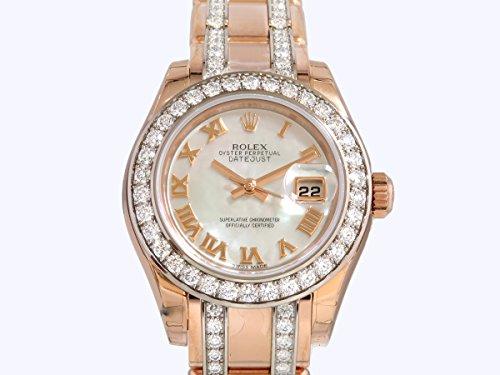 ロレックス デイトジャスト パールマスター29 80285NR ホワイトシェルローマ レディース 腕時計 [並行輸入品]