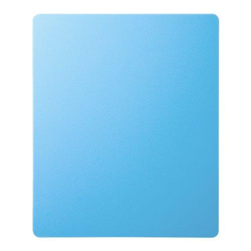 サンワサプライ ずれないマウスパッド ブルー MPD-NS1BL 1個