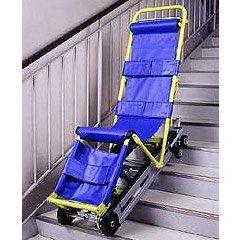 非常階段避難車 キャリダン(車椅子から非常階段を避難する!)