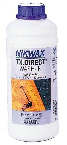 NIKWAX(ニクワックス) TX ダイレクトWASH-IN 1L EBE253 【撥水剤】