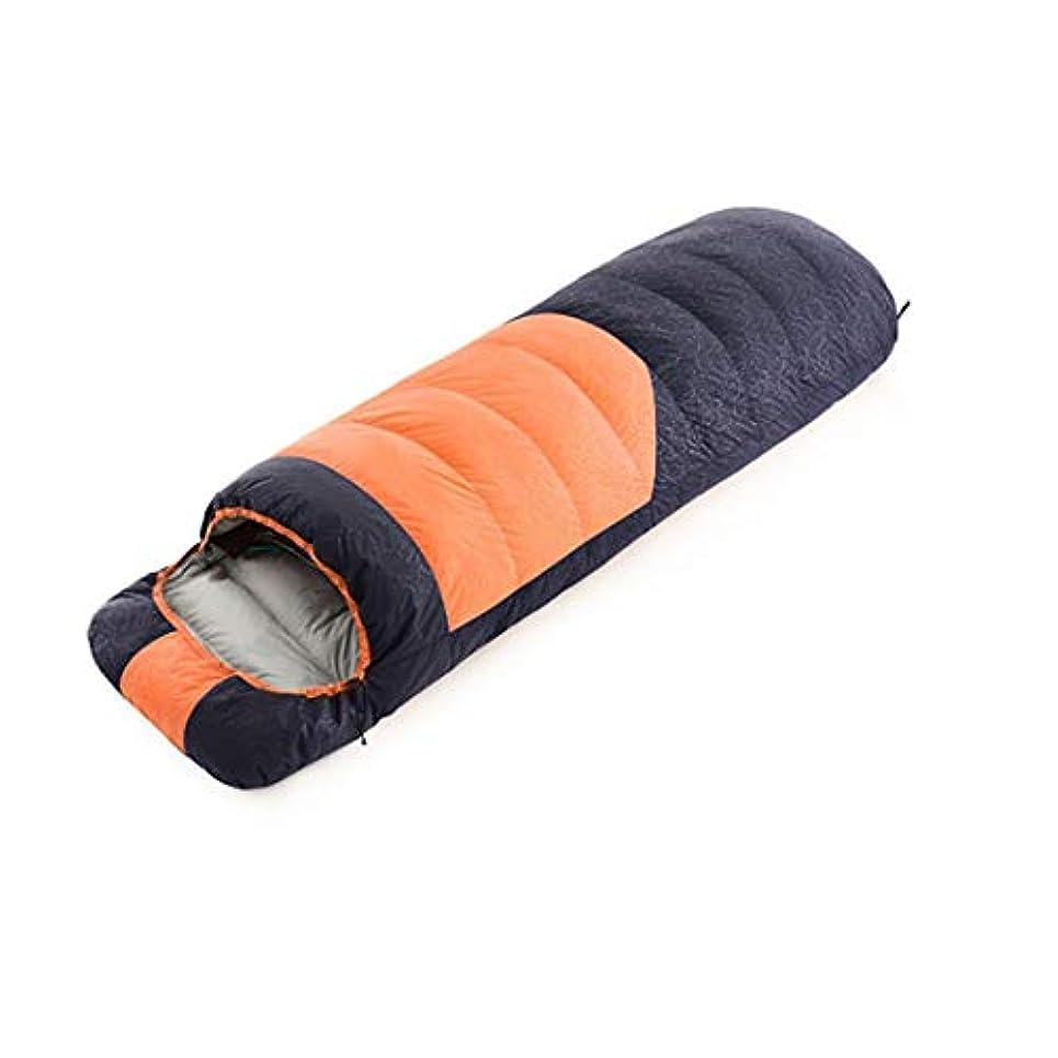 カフェ教師の日ハンカチLilyAngel 屋外冬の羽毛袋シングルステッチポータブル暖かいアイダーダウン寝袋