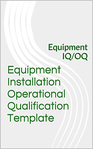 amazon equipment installation operational qualification template