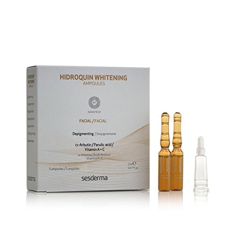 長方形栄光鎖Sesderma Hidroquin Whitening Ampolas 5x2ml [並行輸入品]